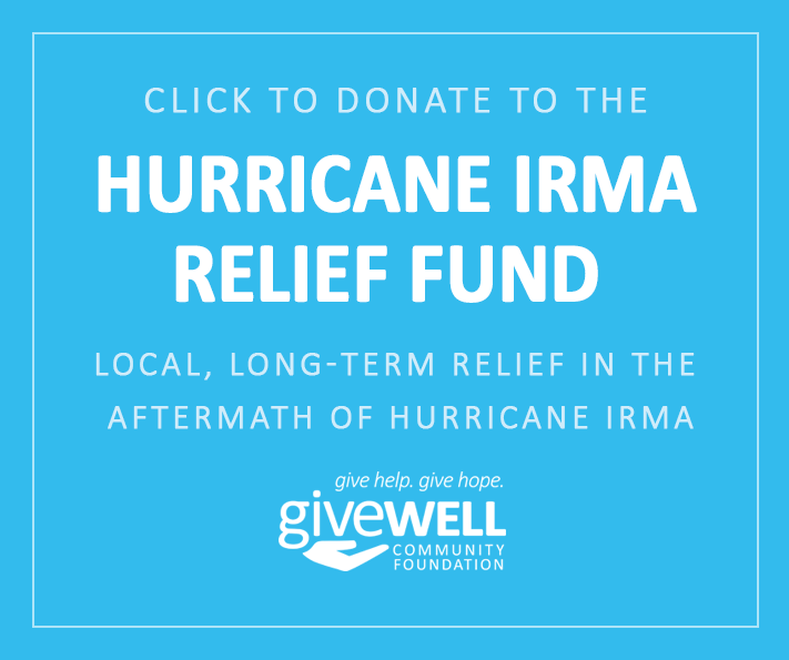 Givewell Community Foundation aids local nonprofits with Hurricane Irma recovery funding