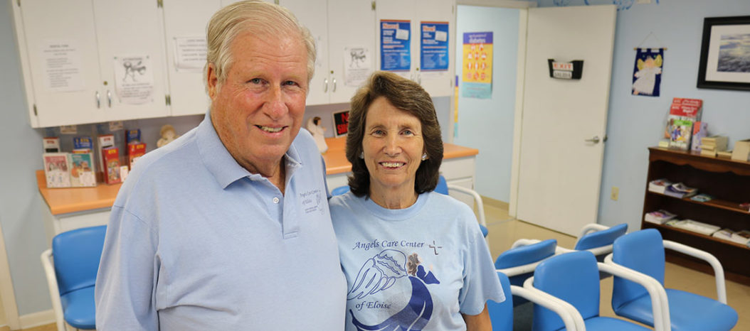 Larry and Janey Powell, co-founders of Angels Care Center of Eloise