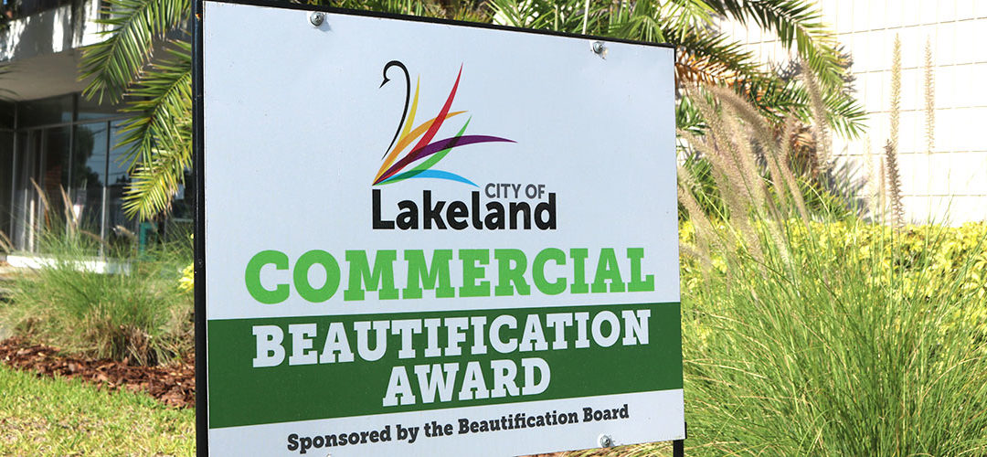 GWCF's Lakeland office receives Beautification Award