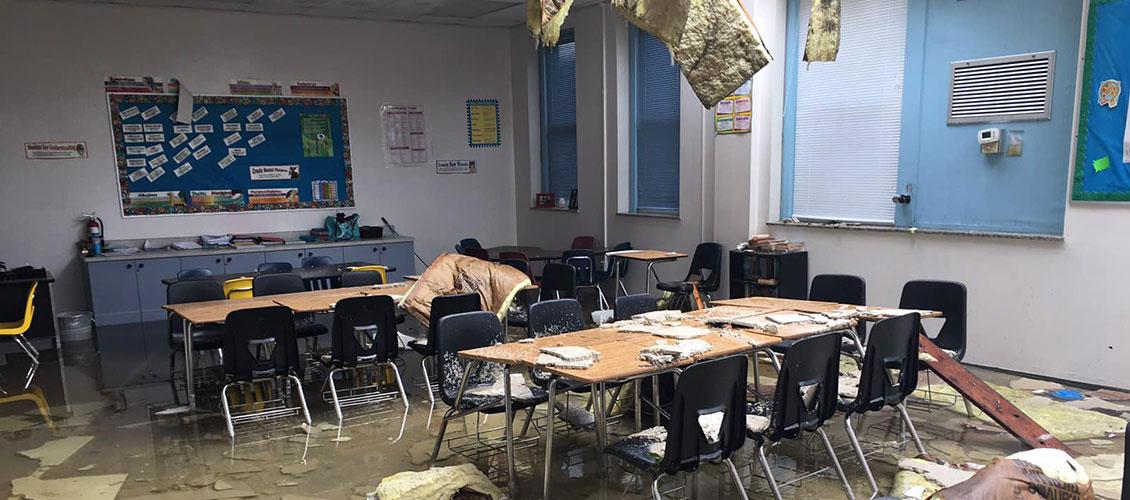 Kathleen Middle School Classroom