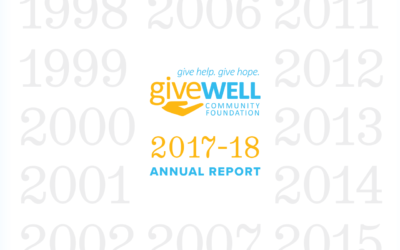 Our 2017-18 Annual Report is Available Now